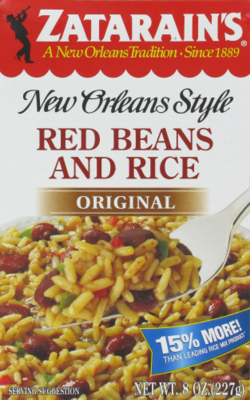 Rice, Zatarain's® New Orleans Style Red Beans and Rice (8 oz Box)