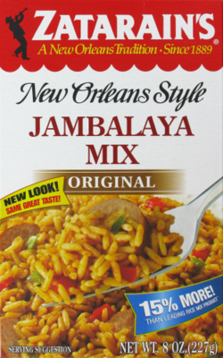 Rice, Zatarain's® New Orleans Style Jambalaya Rice Mix (8 oz Box)