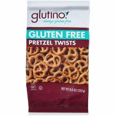 Pretzels, Glutino® Gluten Free Pretzel Twists (8 oz Bag)