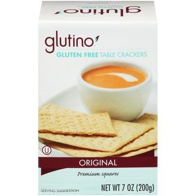 Crackers, Glutino® Gluten Free Original Table Crackers (7 oz Box)
