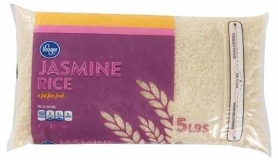 Rice, Kroger® Jasmine Rice (80 oz Bag = 5 Pounds)