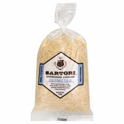 Shredded Cheese, Sartori® Shredded Parmesan Cheese (8 oz Bag)