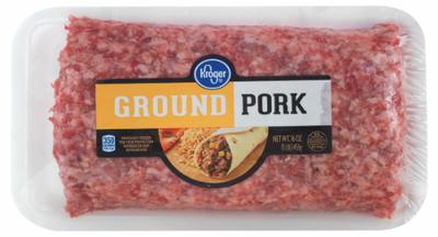 Meat, Kroger® Ground Pork (16 oz Tray)