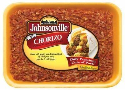 Fresh Chorizo Sausage, Johnsonville® Ground Chorizo Sausage (16 oz Tray)