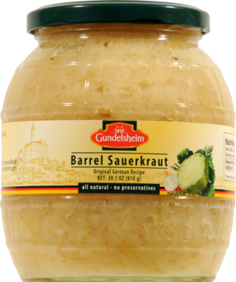 Sauerkraut, Barrel® Sauerkraut (28 oz Jar)