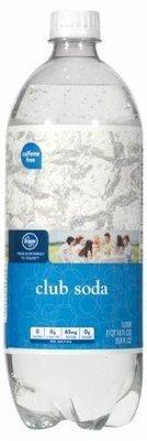 Club Soda, Kroger® Club Soda (1 Liter Bottle)