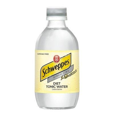 Tonic Water, Schweppes® Diet Tonic Water (10 oz Bottle, Single Bottle)