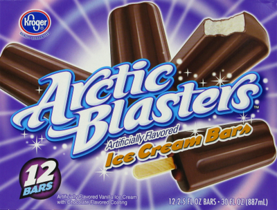 Ice Cream Bars, Kroger® Arctic Blasters Ice Cream Bars (30 oz Box)