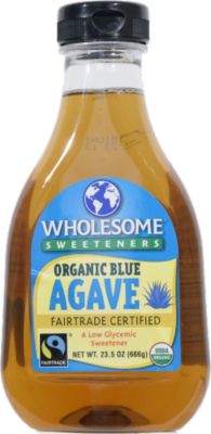 Agave, Wholesome Sweeteners® Organic Blue Agave Syrup (23.5 Oz Bottle)