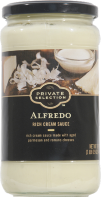 Alfredo Pasta Sauce, Private Selection® Alfredo Rich Cream Sauce (16.9 oz Jar)