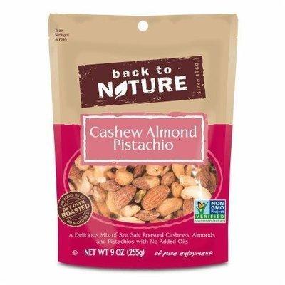 Trail Mix, Back To Nature® Cashew Almond Pistachio Mix (9 oz  Bag)