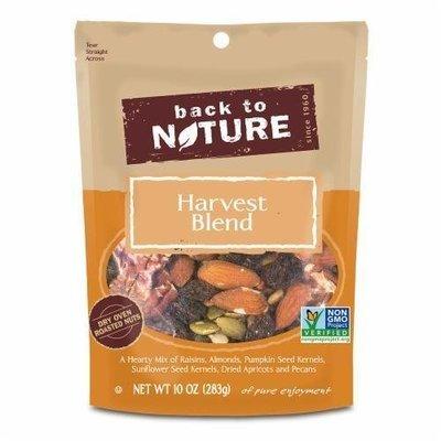 Trail Mix, Back To Nature® Harvest Blend Nuts Mix (10 oz  Bag)