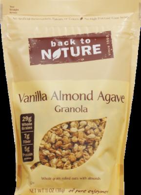 Trail Mix, Back To Nature® Vanilla Almond Agave Granola (11 oz  Bag)
