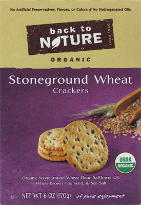 Trail Mix, Back To Nature® Stoneground Wheat Crackers (6 oz  Box)