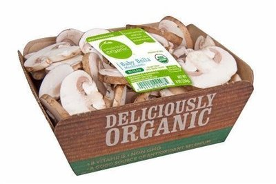 Fresh Mushrooms, Simple Truth Organic™ Sliced Portabella Mushrooms (8 oz Tray)
