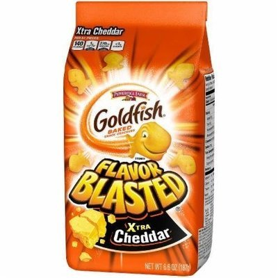 Goldfish Crackers, Pepperidge Farm® Goldfish® Flavor Blasted Crackers (6.6 oz Bag)