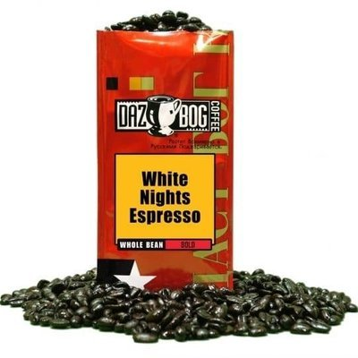 Bean Coffee, Dazbog® White Nights Espresso Whole Bean Coffee (12 oz Bag)