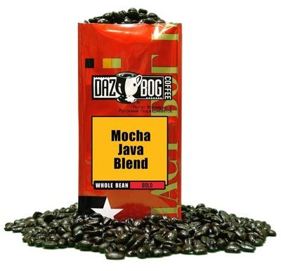 Bean Coffee, Dazbog® Mocha Java Whole Bean Coffee (12 oz Bag)