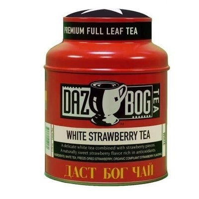 Tea, Dazbog® Strawberry White Tea (1.75 oz Jar)