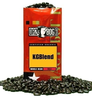 Ground Coffee, Dazbog® KGBlend Ground Coffee (12 oz Bag)