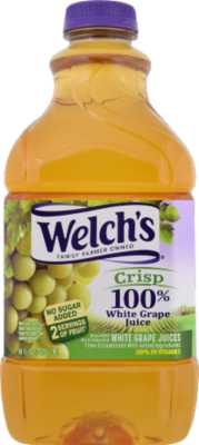 Juice Drink, Welch's® 100% White Grape Juice (64 oz Bottle)