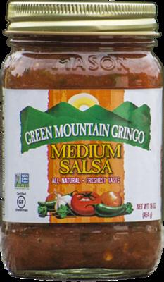 Salsa, Green Mountain Gringo® Medium Salsa (16 oz Jar)