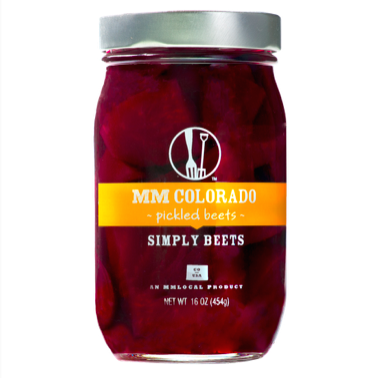 Preserved Beets, MM Colorado® Pickled Beets (16 oz Jar)