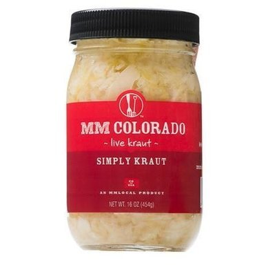 Preserved Kraut, MM Colorado® Simply Kraut (16 oz Jar)
