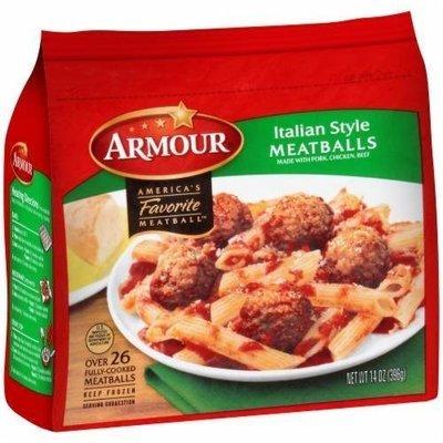 Frozen Meatballs, Armour® Italian Style Meatballs (14 oz Bag)
