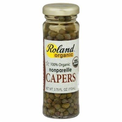 Capers, Roland® Organic Non-Pareil Capers (3.75 oz Jar)