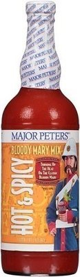 Drink Mixer, Major Peters'® Hot & Spicy Bloody Mary Mix (1.75 Liter Bottle)