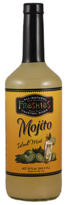 Drink Mixer, Freshies® Mojito Mix (1 Liter Bottle - 33.8 oz)