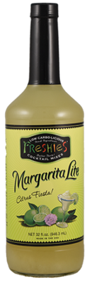 Drink Mixer, Freshies® Margarita Lite Mix (1 Liter Bottle - 33.8 oz)