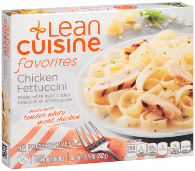 Frozen Dinner, Lean Cuisine® Favorites™ Chicken Fettuccine (9.25 oz Box)