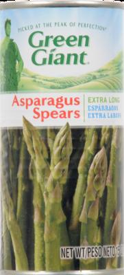 Canned Asparagus, Green Giant® Extra Long Asparagus Spears (15 oz Can)