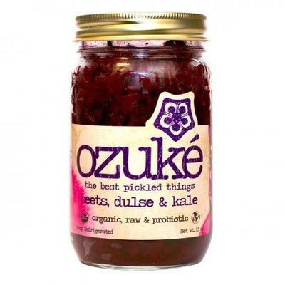 Preserved Beets, Ozuké® Organic Beets, Dulse and Kale (15 oz Jar)