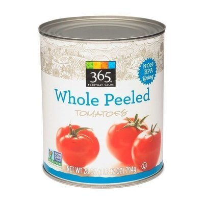 Canned Tomato, 365® Whole Peeled Tomatoes (28 oz Can)