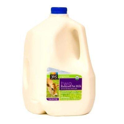 Dairy Milk, 365® Organic 2% Reduced Fat Milk (1 Gallon Jug)