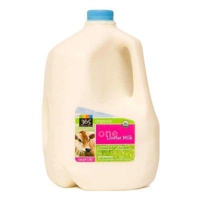 Dairy Milk, 365® Organic 1% Low Fat Milk (1 Gallon Jug)