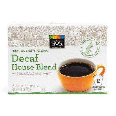K Cup Coffee, 365® Decaf