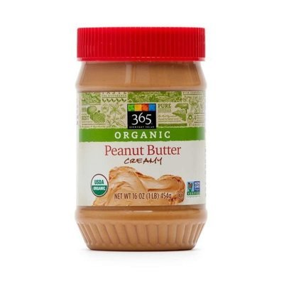 Organic Peanut Butter, 365® Organic Creamy Peanut Butter (16 oz Jar)