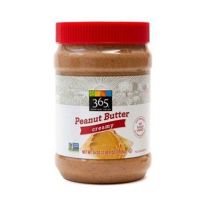 Peanut Butter, 365® Creamy Peanut Butter (36 oz Jar)