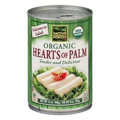 Canned Hearts of Palm, Native Forest® Organic Hearts of Palm (14.0 oz Can)