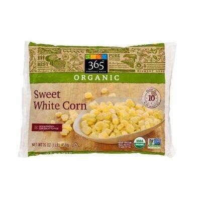 Frozen Corn, 365® Organic Sweet White Corn (16 oz Bag)