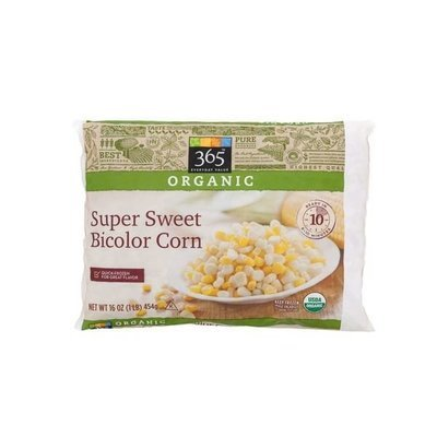 Frozen Corn, 365® Organic Sweet Bicolor Corn (16 oz Bag)