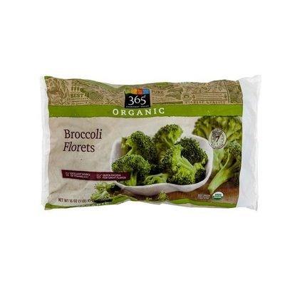 Frozen Broccoli, 365® Organic Broccoli Florets (16  oz Bag)