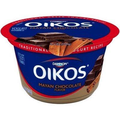 Yogurt, Dannon® Oikos® Mayan Chocolate Yogurt (5.3 oz Cup)