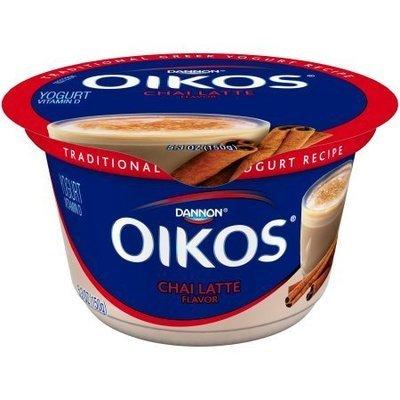 Yogurt, Dannon® Oikos® Chai Latte Yogurt (5.3 oz Cup)