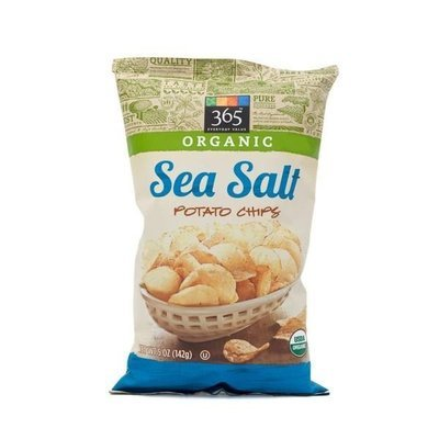 Potato Chips, 365® Organic Sea Salt Potato Chips (5 oz Bag)