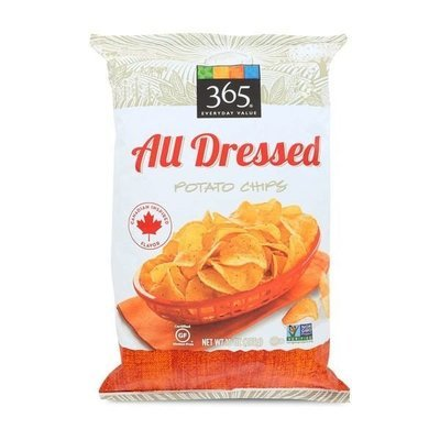Potato Chips, 365® All Dressed Potato Chips (10 oz Bag)